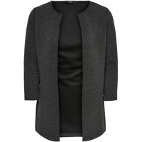 ONLY Lang, Lassig Strickjacke Women Grey