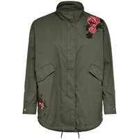 ONLY Detailreiche Jacke Women Green