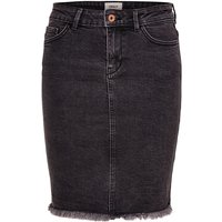 ONLY Short Denim Skirt Women Grey