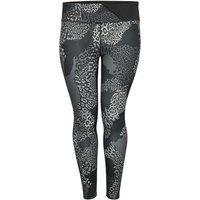 ONLY Curvy Printed Training Tights Women Black