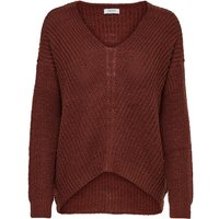 ONLY Lockerer Strickpullover Women Red