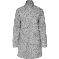 ONLY Wool Blend Jacket Women Grey
