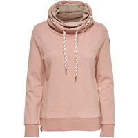ONLY Stehkragen Sweatshirt Women Pink