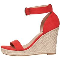 ONLY Wedge Sandals Women Red