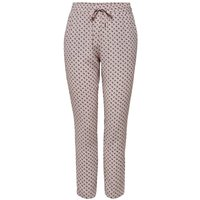 ONLY Printed Trousers Women White