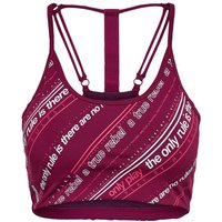 ONLY Printed Sports Bra Women Red