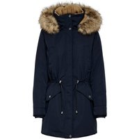 ONLY Long Parka Women Blue