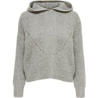 ONLY Kapuzen Strickpullover Women Grey