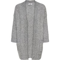 ONLY Chunky Knitted Cardigan Women Grey