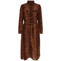 ONLY Bedrucktes Blusenkleid Women Brown