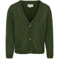 ONLY Loose Knitted Cardigan Women Green