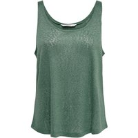 ONLY Solid Colored Tank Top Women Green