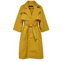 ONLY Bindegürtel Trenchcoat Damen Gold; Yellow