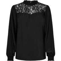 ONLY Lace Long Sleeved Top Women Black