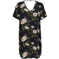 ONLY Curvy Floral Dress Women Black