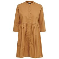 ONLY Short Shirt Dress Women Brown
