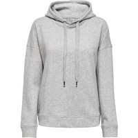 ONLY Solid Colored Sweatshirt Women Grey