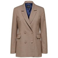 SELECTED Double Breasted - Blazer Women Brown