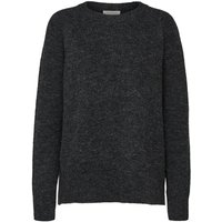 SELECTED Petite - Oversized - Knitted Pullover Women Black