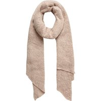 PIECES Soft Knitted Long Scarf Women Pink