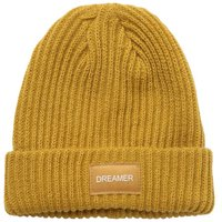 "PIECES ""dreamer"" Badge Hat"" Women Brown; Yellow"