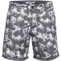 ONLY & SONS Print Shorts Men Grey