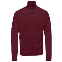 ONLY & SONS Rollneck Pullover Men Red