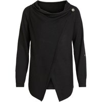 OBJECT COLLECTORS ITEM Wrap Knitted Cardigan Women Black