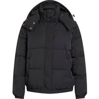 OBJECT COLLECTORS ITEM Hooded Quilted Jacket Women Black