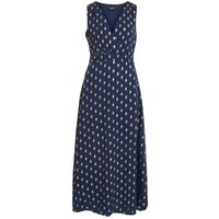 OBJECT COLLECTORS ITEM Patterned Maxi Dress Women Blue