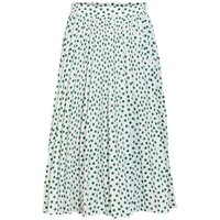 Y.A.S Dotted Skirt Women White