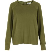 NOISY MAY Long Sleeves Top Women Green