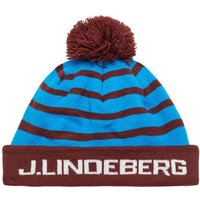 J.LINDEBERG Gestreifte Golf Mutze Men Brown