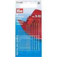 Prym Modisten-Nähnadeln, Stärke: 0,5 –0,8 mm, Länge: 38 – 51 mm, Inhalt: 16 Stück