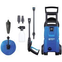 Nilfisk Alto (Kew) C120.7-6 PCA X-TRA Pressure Washer with Patio Cleaner andamp; Brush 120 bar 240V
