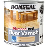 Ronseal Diamond Hard Floor Varnish Satin 2.5 litre