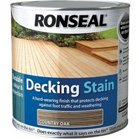 Ronseal Decking Stain Rich Mahogany 5 litre