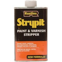 Rustins Strypit Paint andamp; Varnish Stripper 500ml