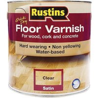 Rustins Quick Dry Floor Varnish Gloss 5 litre