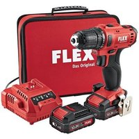 FLEX DD 2G 10 8 LD Drill Driver Kit 2 x 2 5Ah Batteries