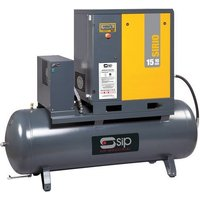 SIP 06322 Sirio 08-10-270ES Screw Compressor w/ Dryer