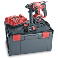 FLEX CHE18.0-EC/5.0 Set, 18v Rotary Hammer Drill Set, 2 x 5.0 Amp Batteries and Charger