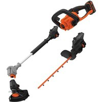 Black andamp; Decker 3-in-1 18V SEASONMASTER Hedge Trimmer and String Trimmer