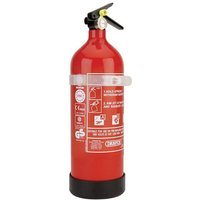 Draper 2kg Dry Powder Fire Extinguisher