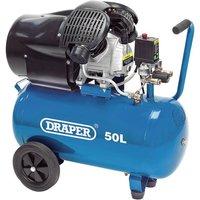 Draper Air Compressor, 50L, 2.2kW