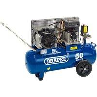 Draper 50L Belt-Driven Air Compressor (2.2kW)