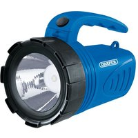 Draper 3W Rechargeable Spotlight (Blue)