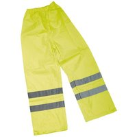 Draper High Visibility Over Trousers - Size XL