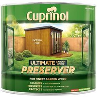 Cuprinol Ultimate Garden Wood Preserver Golden Oak 1 litre