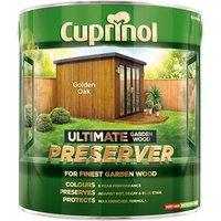 Cuprinol Ultimate Garden Wood Preserver Golden Oak 4 litre
